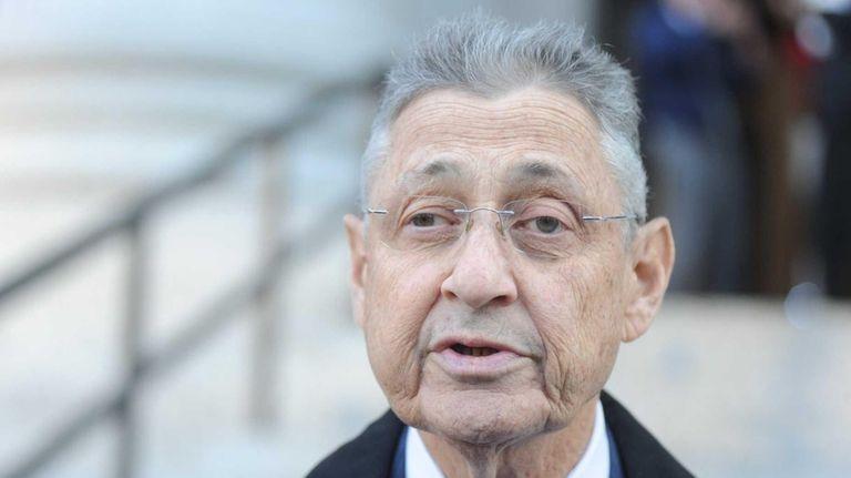 Former state Assembly Speaker Sheldon Silver leaves federal
