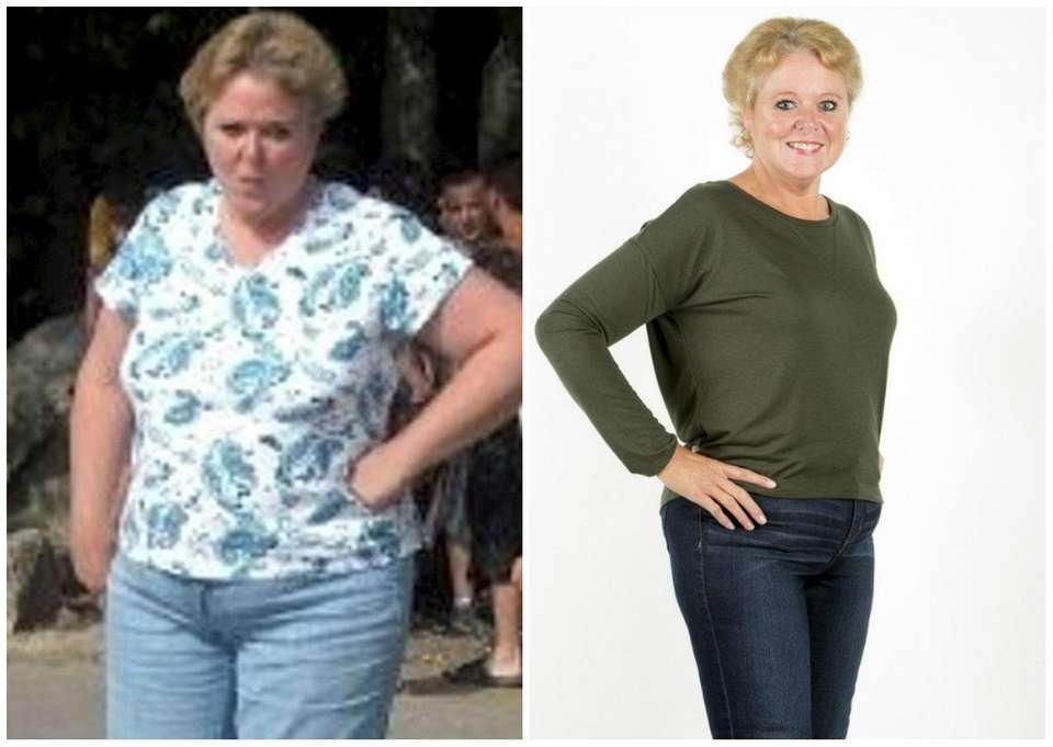 Patty Albert dropping LBs