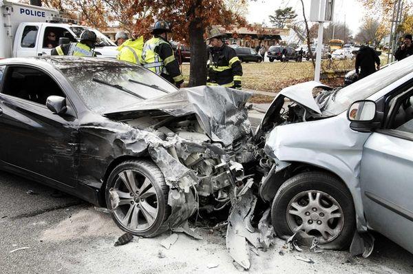 Westbury crash