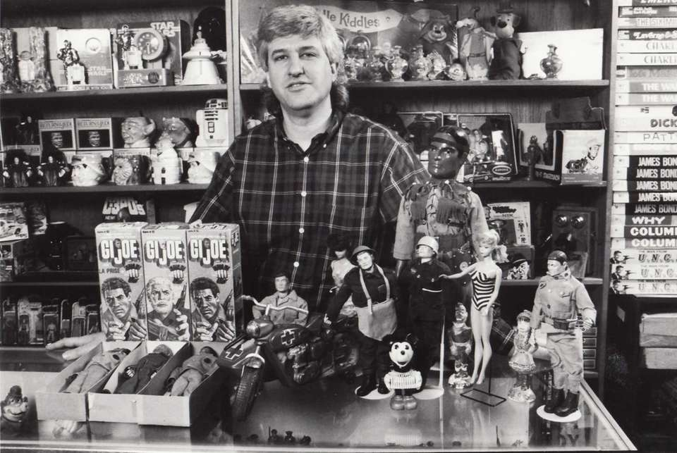 Ken Farrell, owner of Just Kids Nostalgia in