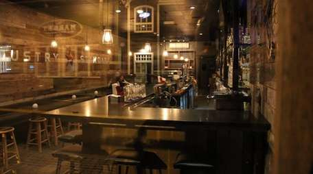 Industry Standard is a casual Greenport restaurant that