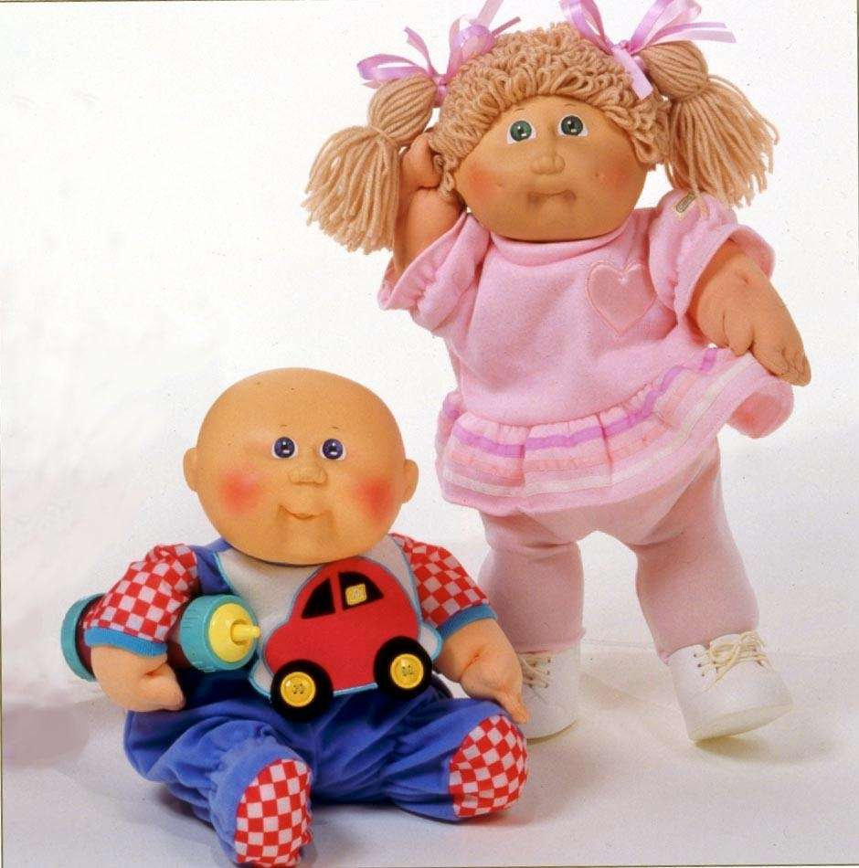Cabbage Patch Kids were originally named Little People,
