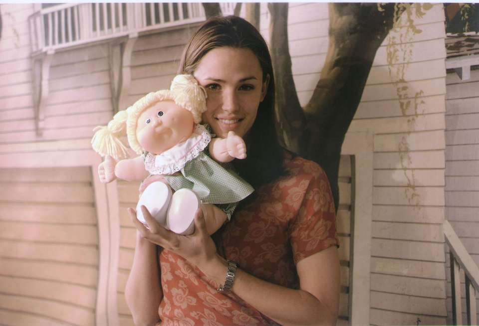 Cabbage Patch Kid Carlyn Jocasta joined Jennifer Garner
