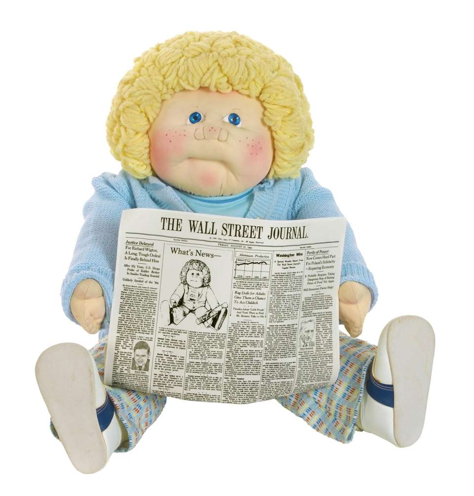 Cabbage Patch Kid Bruce Ashley, who was featured