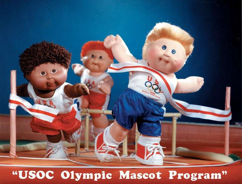 Cabbage Patch Kids became the first-ever mascots of