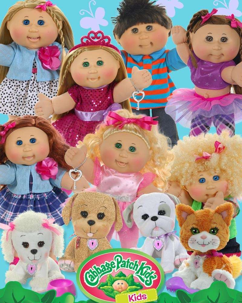 The new line of Cabbage Patch Kids from