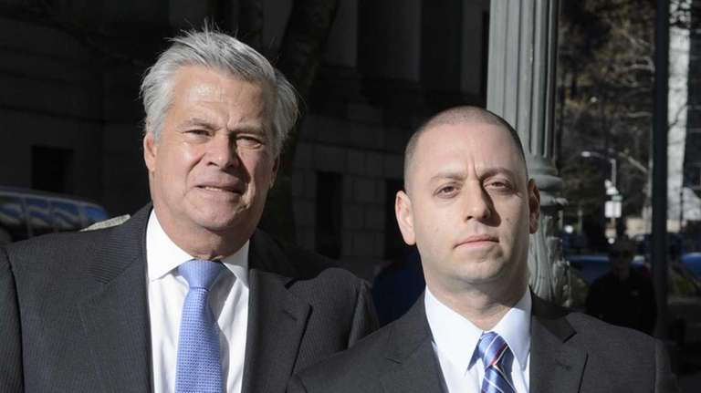 State Sen. Dean Skelos and his son, Adam