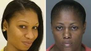 Leah Cuevas, right, is charged with second-degree murder,