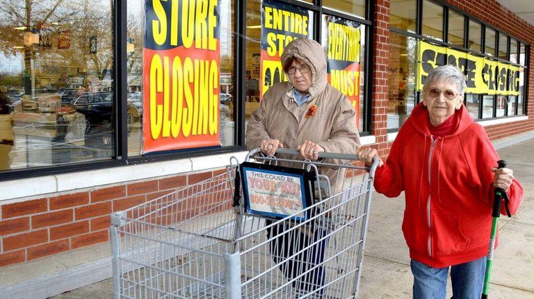 Christina Petersen, 57, and Dorothy Sundberg, 91, of