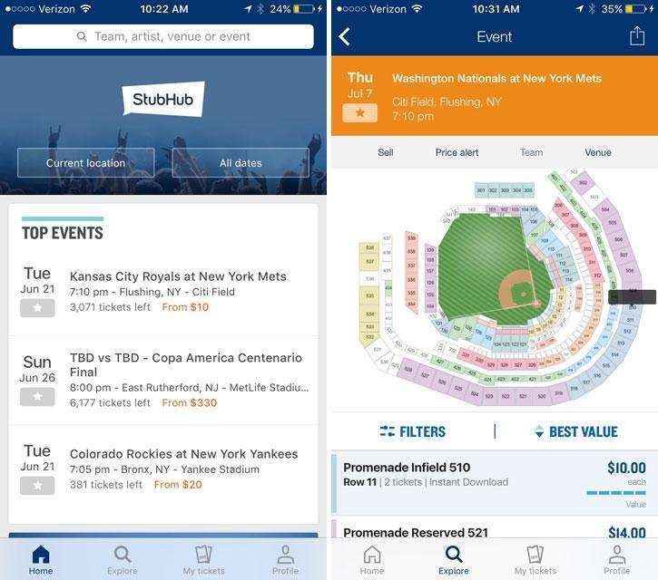 Are you looking to buy tickets? Stubhub is