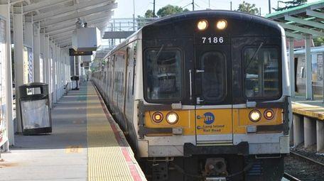 A train on the Long Island Rail Road.