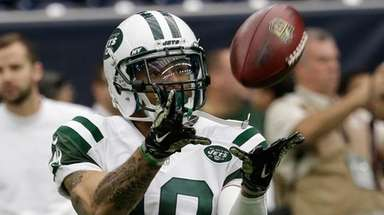 New York Jets wide receiver Devin Smith (19)