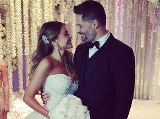 Sofia Vergara and Joseph Manganiello married on Sunday,