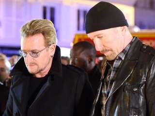 U2 has rescheduled the Paris concerts the band
