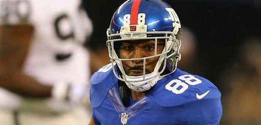 Hakeem Nicks #88 of the New York Giants
