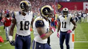 St. Louis Rams wide receiver Stedman Bailey (12)