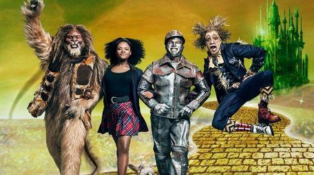 David Alan Grier, left, Shanice Williams, Ne-Yo and