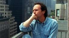 Comedian Billy Crystal at the Regency Hotel in