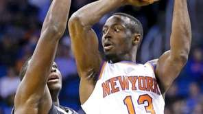 New York Knicks guard Jerian Grant looks to