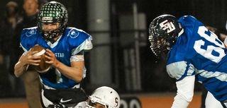 Suffolk High School Blue team player Cody Cunningham