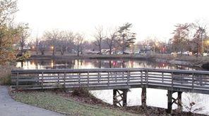 Herricks Pond Park on Wednesday, Nov. 25, 2015
