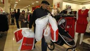 Shoppers take advantage of early sales at JCPenney