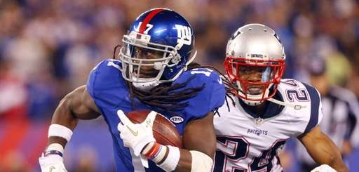 Dwayne Harris #17 of the New York Giants