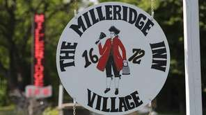 A sign for The Milleridge Inn is pictured