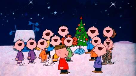 The Peanuts gang gets into the holiday spirit
