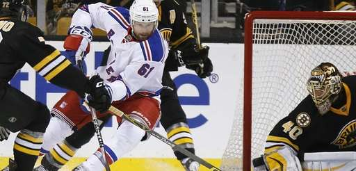 Rangers Bruins Hockey