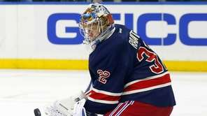 Antti Raanta #32 of the New York Rangers