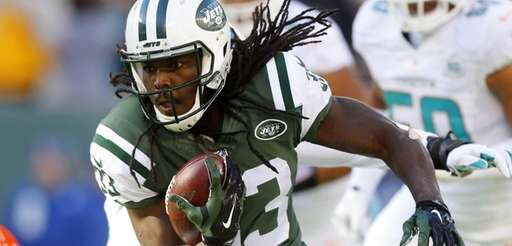 Chris Ivory #33 of the New York Jets