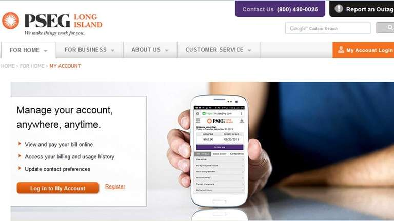 Pseg Li To Offer Text Email Alerts For Billing Info Newsday