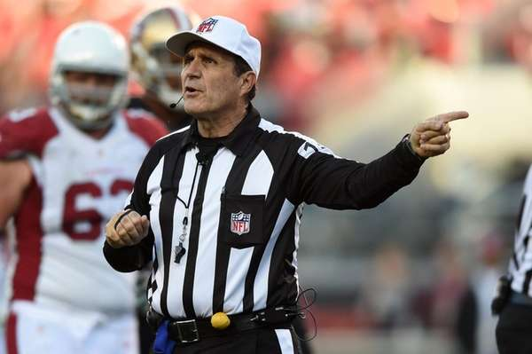 Pete Morelli's crew yanked from Week 13 Monday night game