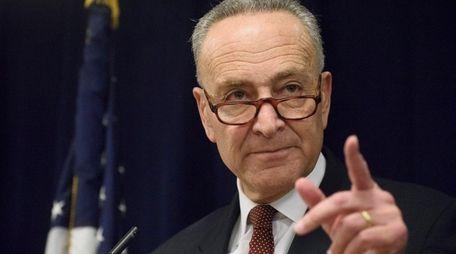 U.S. Sen. Charles Schumer (D-N.Y.) announced a deal