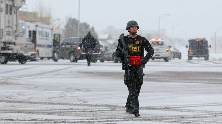 A member of the Colorado Springs sheriff's department