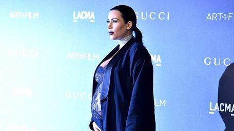 Kim Kardashian attends LACMA 2015 Art+Film Gala at