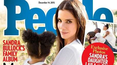 Sandra Bullock tells People about adopting daughter Laila,