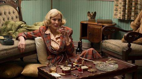 Cate Blanchett, as Carol Aird, in a