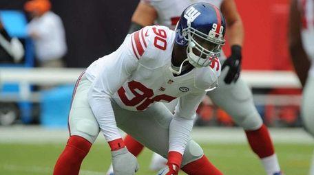New York Giants defensive end Jason Pierre-Paul #90