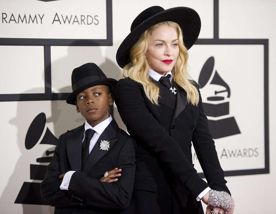 Madonna adopted her son, David, in 2008, and