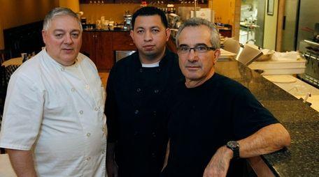 From left, Vito DeFeo, Edwin Ochoa and Philip