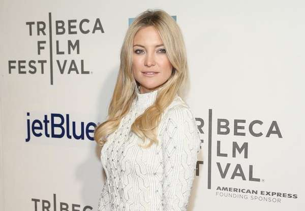 Golden Globe winner Kate Hudson has two children,