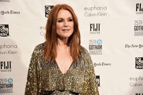 Julianne Moore is mother to son, Caleb, and