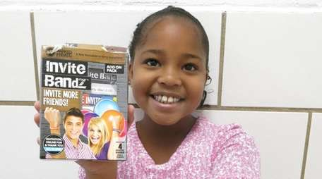 Kidsday reporter Macaylah Hilaire Roy tested out the
