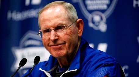 New York Giants head coach Tom Coughlin