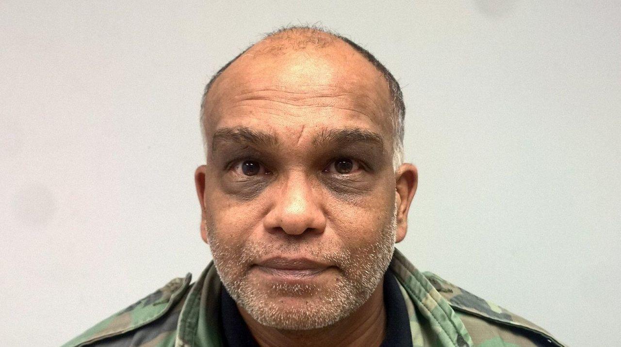 Leslie Sharbo, 48, of Springfield Gardens, was arrested