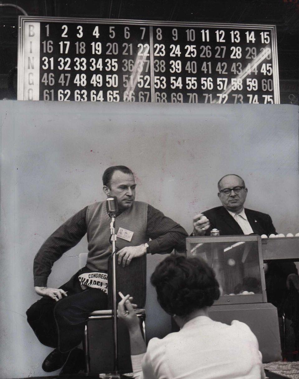 Morris Luckerman and Irving Barshai of Hicksville call