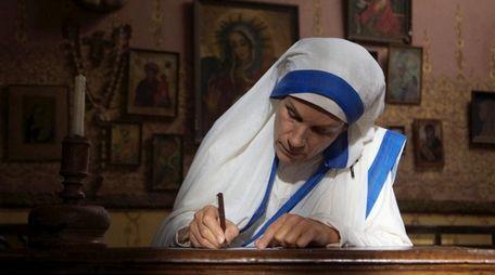 Juliet Stevenson plays Mother Teresa in