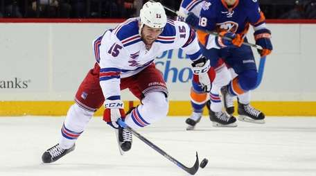 The Rangers' Tanner Glass played a strong game
